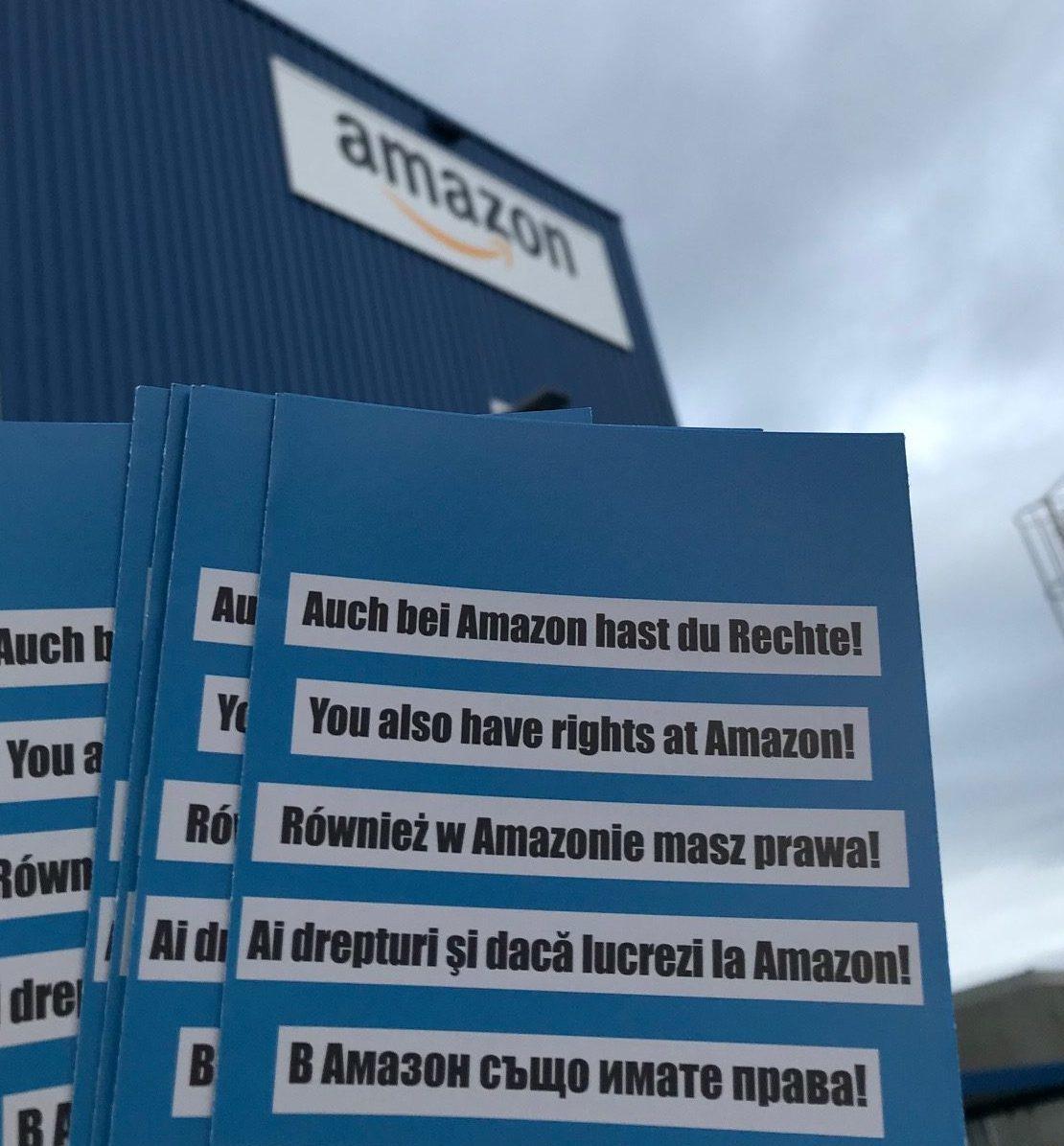 Seit im Herbst 2019 der Versandriese Amazon ein Verteilzentrum in Erfurt Stotternheim eröffnete, steigt die Zahl der Kurierfahrer, die sich an uns wenden, erheblich und zeigt ein bisher ungeahntes Maß an Ausbeutung mehrheitliche ausländischer Arbeitskräfte.